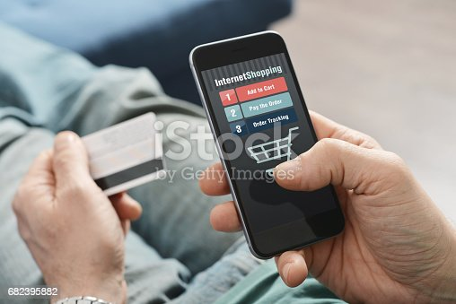 istock Online shopping 682395882