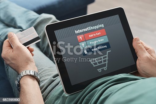 istock Online shopping 682395890