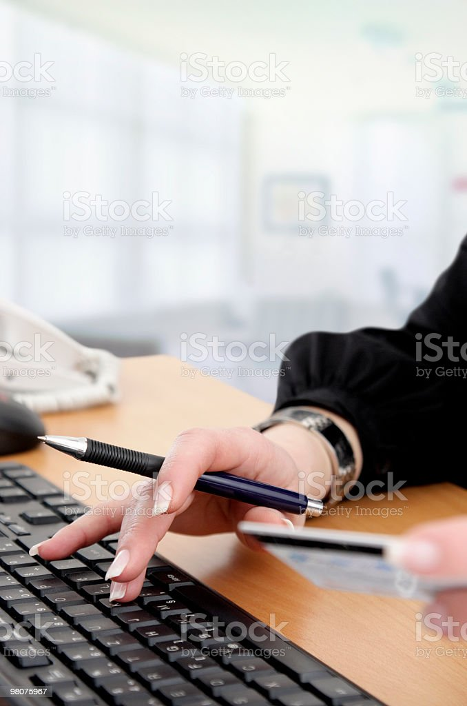 Online Shopping royalty-free stock photo