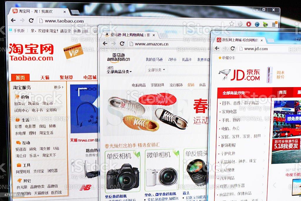 2da4ad1dbf88 Shopping Online Siti Web In Cina - Fotografie stock e altre immagini ...