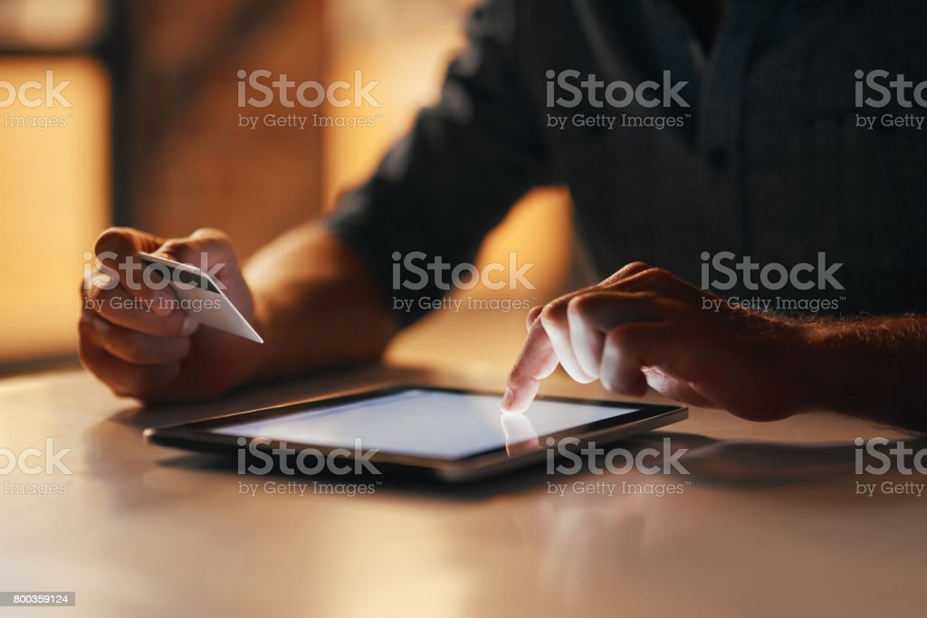 Online Stores Dont Have A Closing Time Stock Photo - Download Image