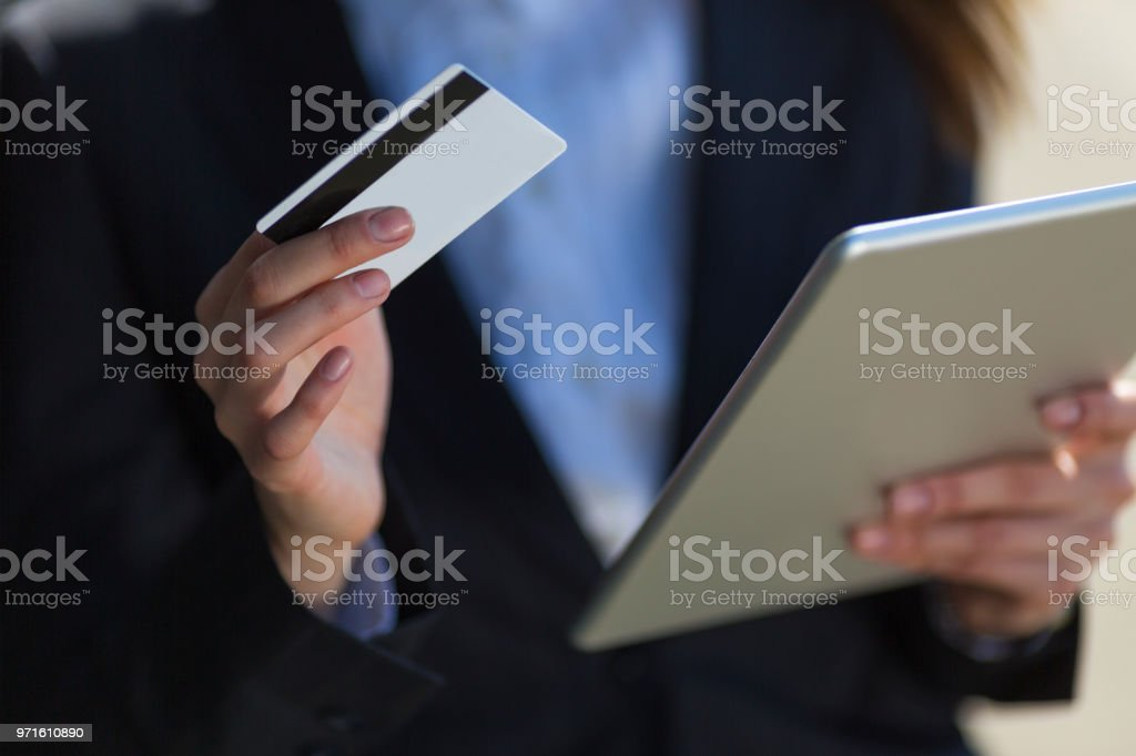 Online stores don't have a closing time stock photo