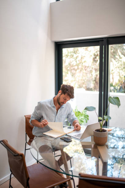 Online studing. stock photo