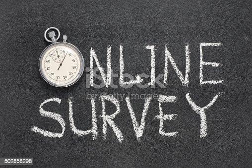 istock online survey watch 502858298