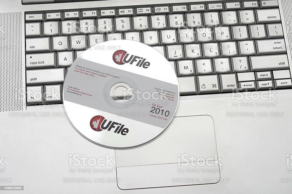 Online Taxes stock photo
