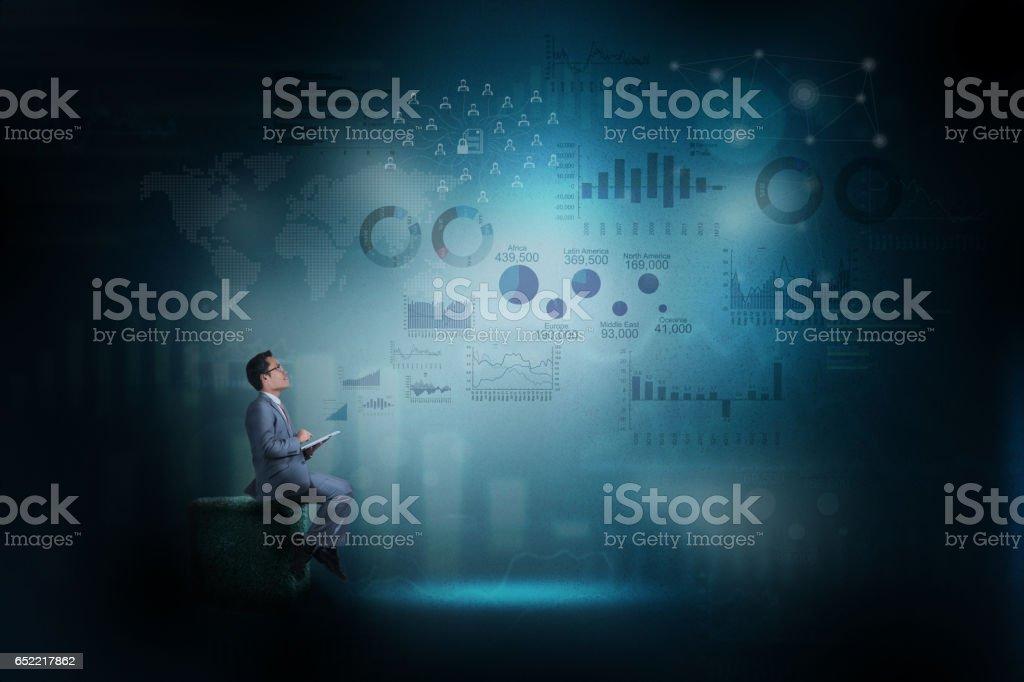 Online-trading Konzept. – Foto