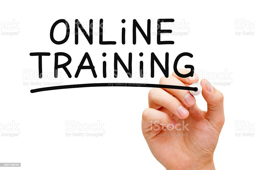 Online Training royalty-free stock photo
