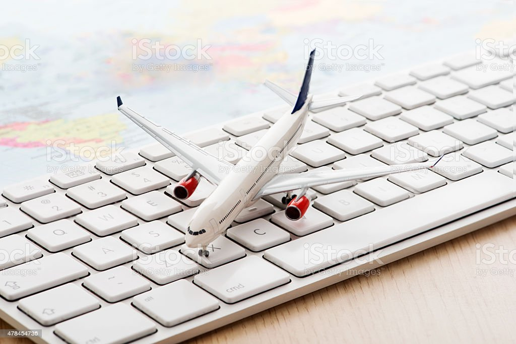 Viajes en línea - foto de stock