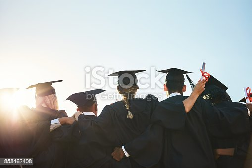 istock Only hard work gets you here 858462408