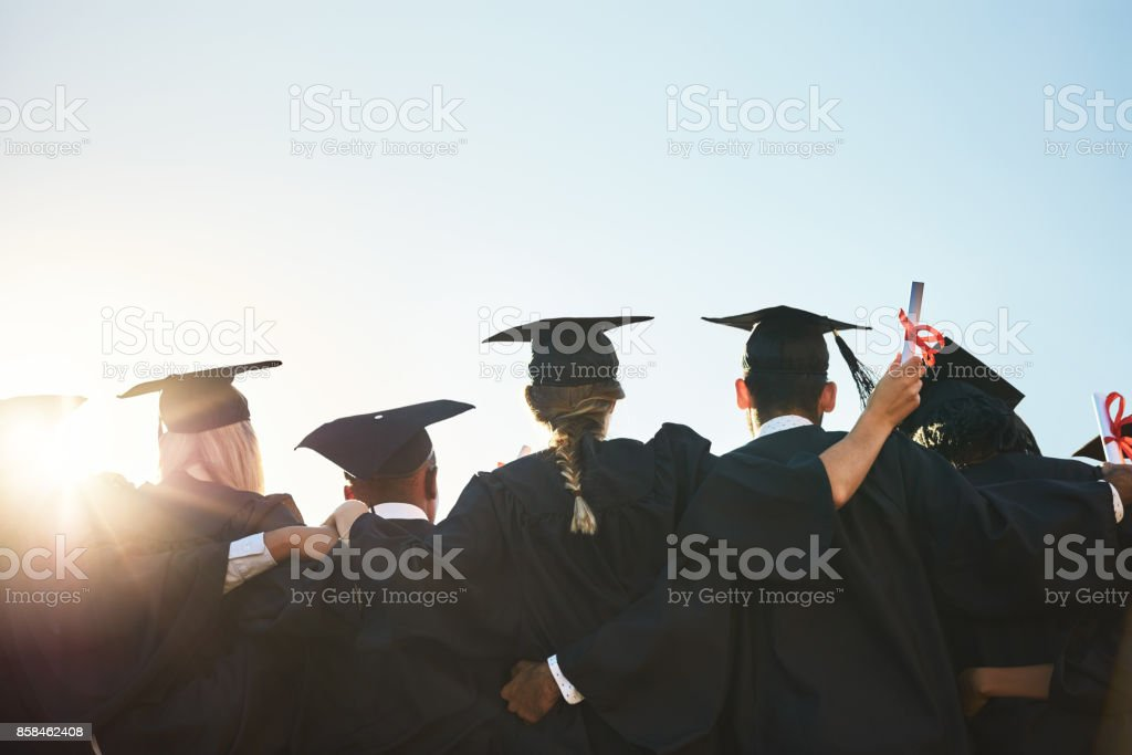 Only hard work gets you here stock photo