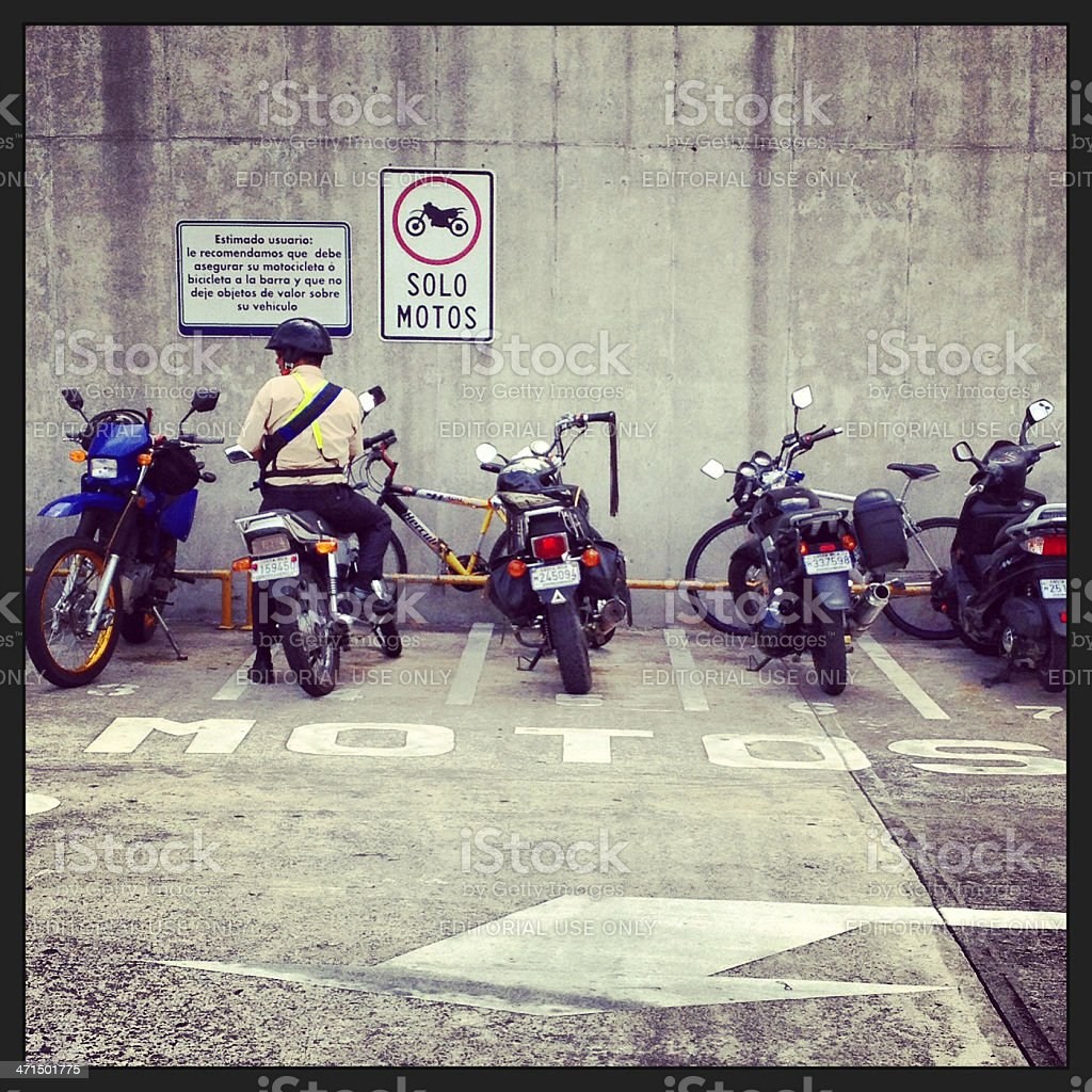 only motorcycles royalty-free stock photo