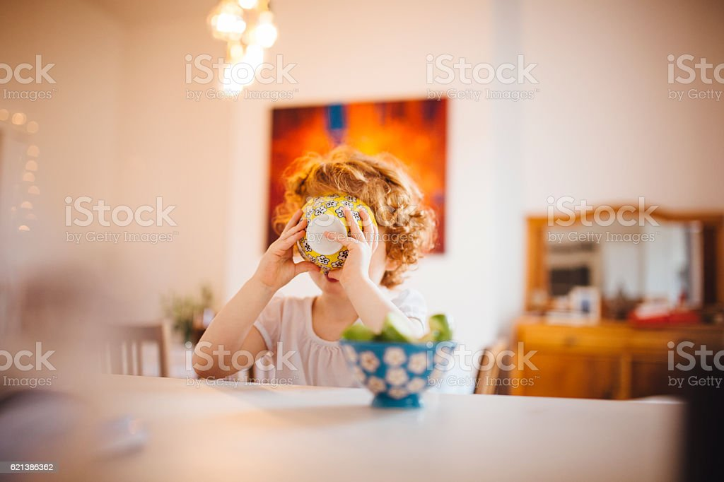 Only One for Breakfast stock photo