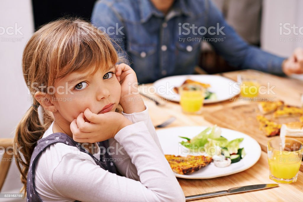 Only one slice? stock photo