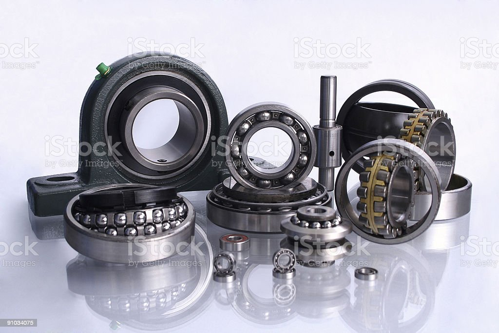 Only quality!Bearings royalty-free stock photo