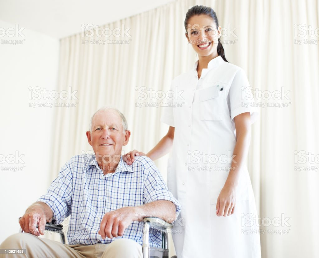 Only the best care will be given royalty-free stock photo