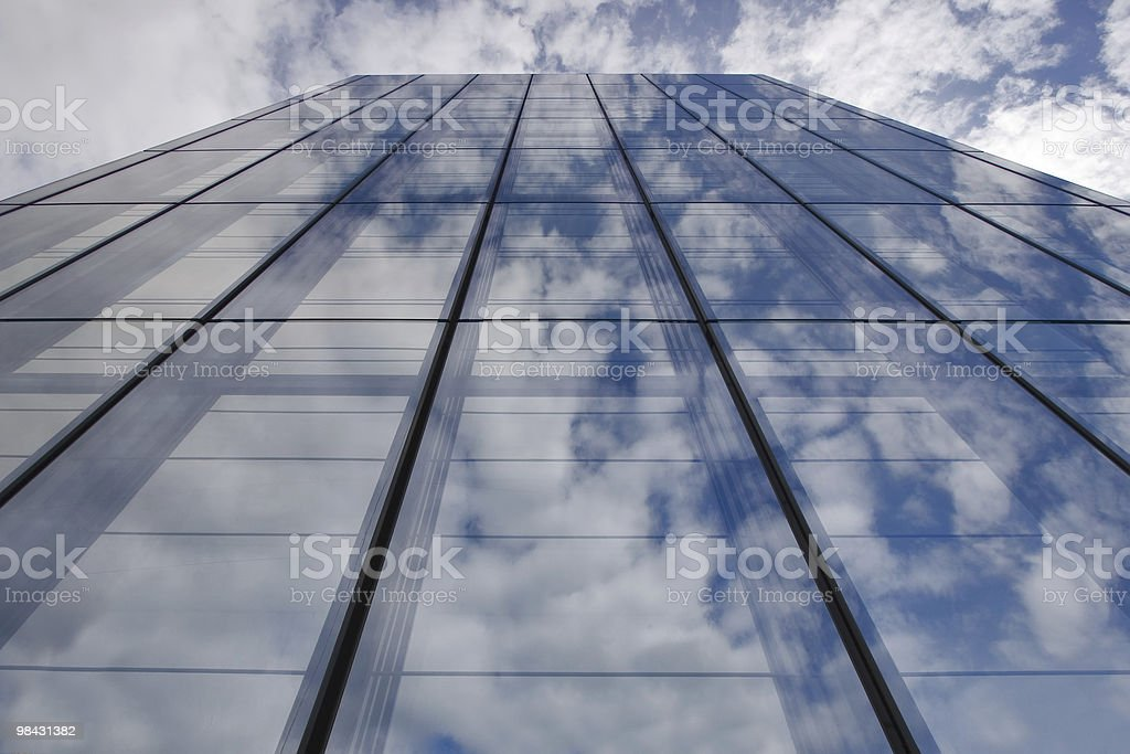 Only the sky and clouds royalty-free stock photo