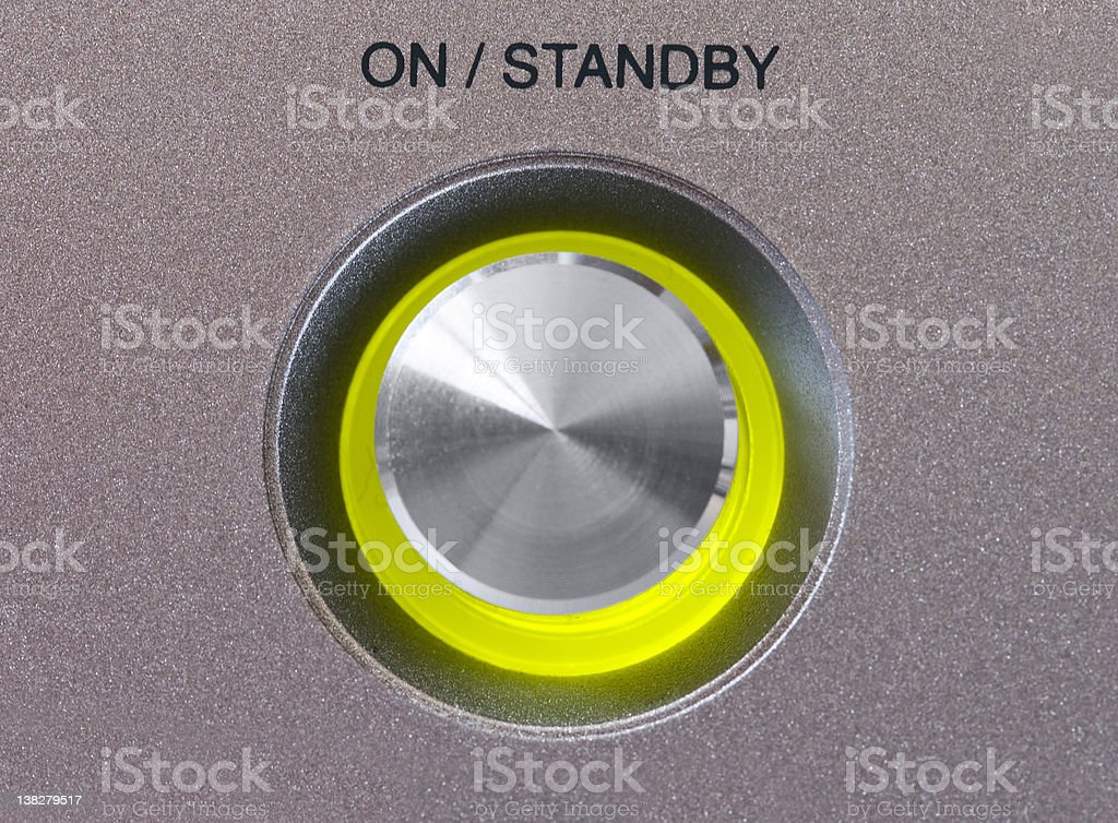 On/Off Button royalty-free stock photo