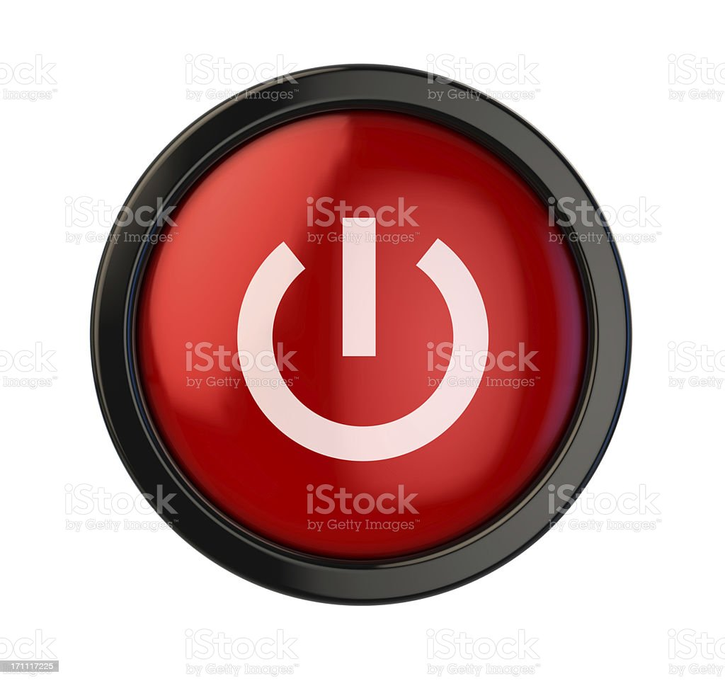 On-Off Button royalty-free stock photo