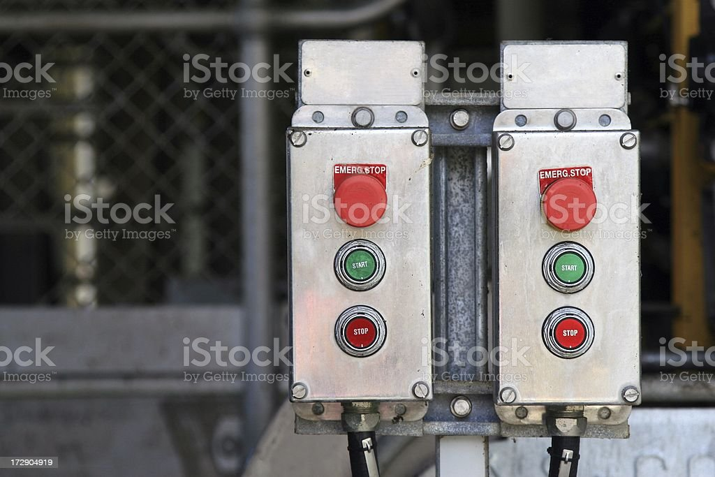On/Off Isolation Switch royalty-free stock photo