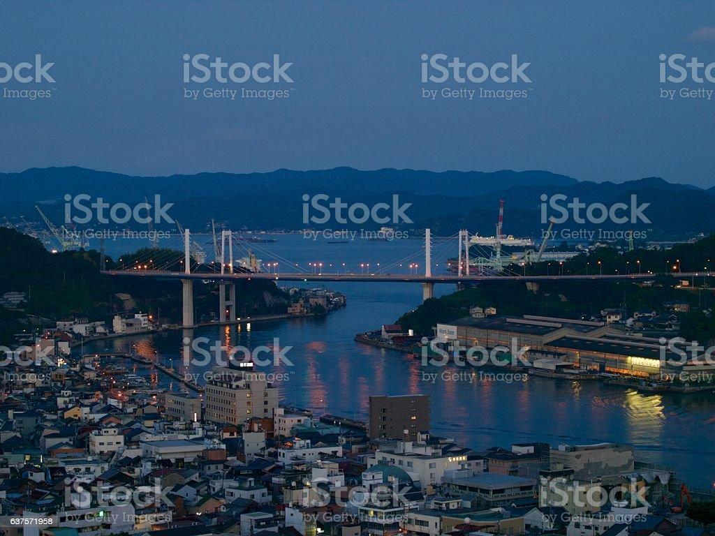 Onomichi/Hiroshima,Japan stock photo