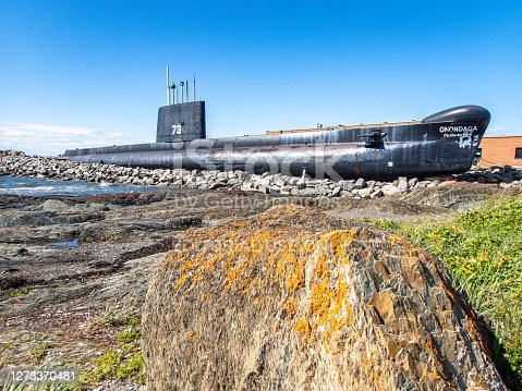 HMCS Onondaga (S73) is a former Royal Canadian Navy submarine of the Canadian Armed Forces transformed into a museum ship in Pointe-au-Père (Rimouski), Quebec since 2009 following a military career that spanned 33 years.