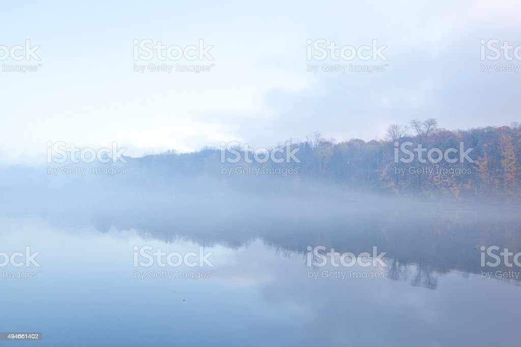 Onota Lake stock photo
