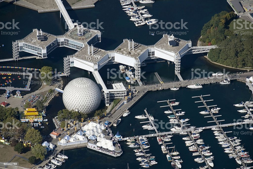 Ontario Place royalty-free stock photo