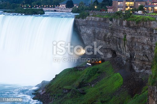 One of Ontario's most iconic landmarks, Niagara Falls, Canada.