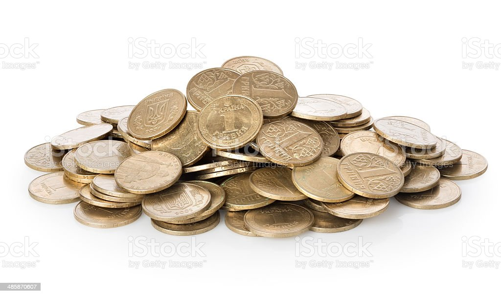 Oodles of money stock photo