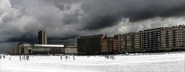 oostende panorama - havadi-nagy stock-fotos und bilder