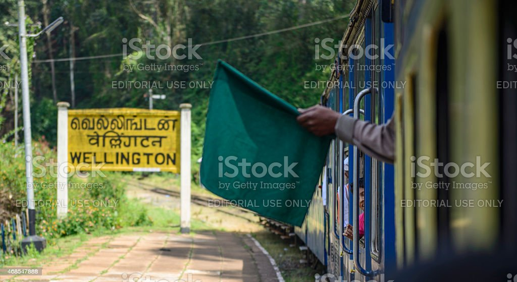 Ooty mountain train stock photo