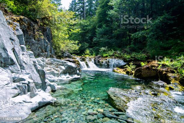 Photo of Opal Creek emerald waters