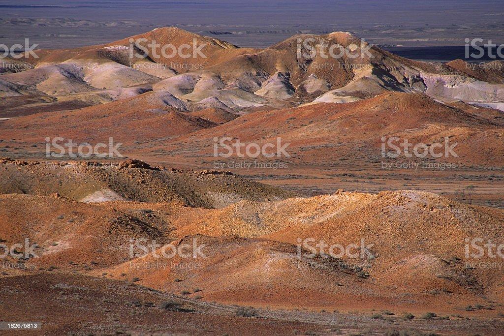 Opal Mining in Australia stock photo