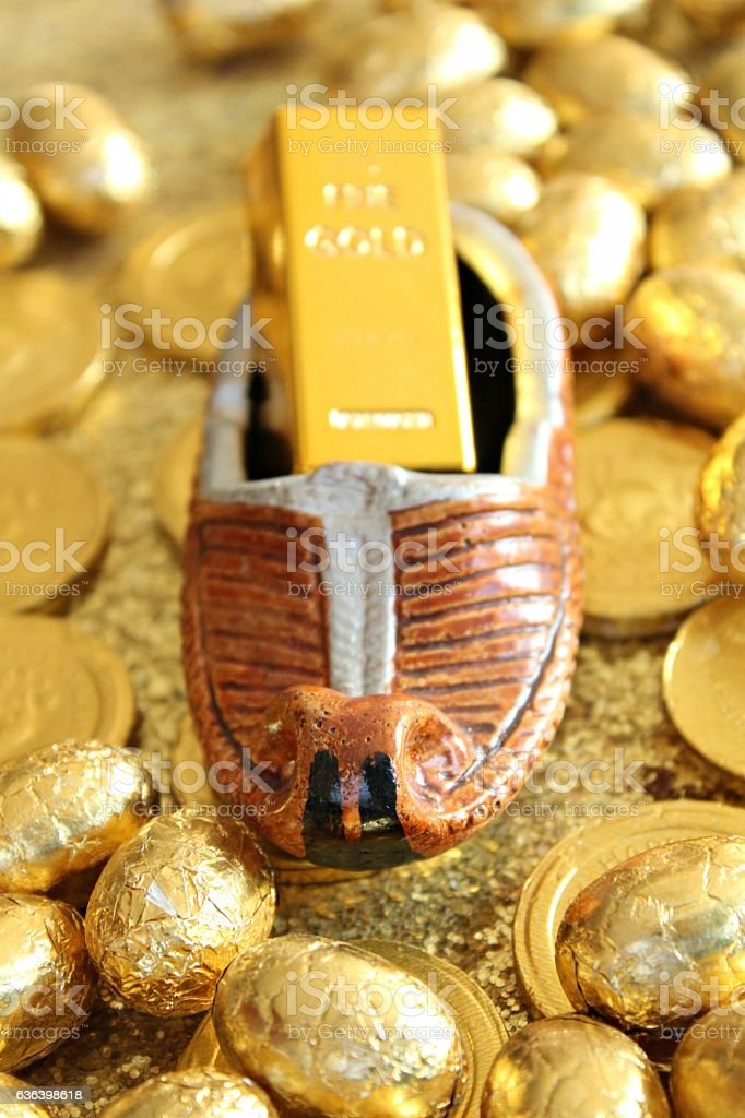 Opanak stock photo
