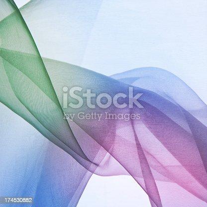 Transparent silk