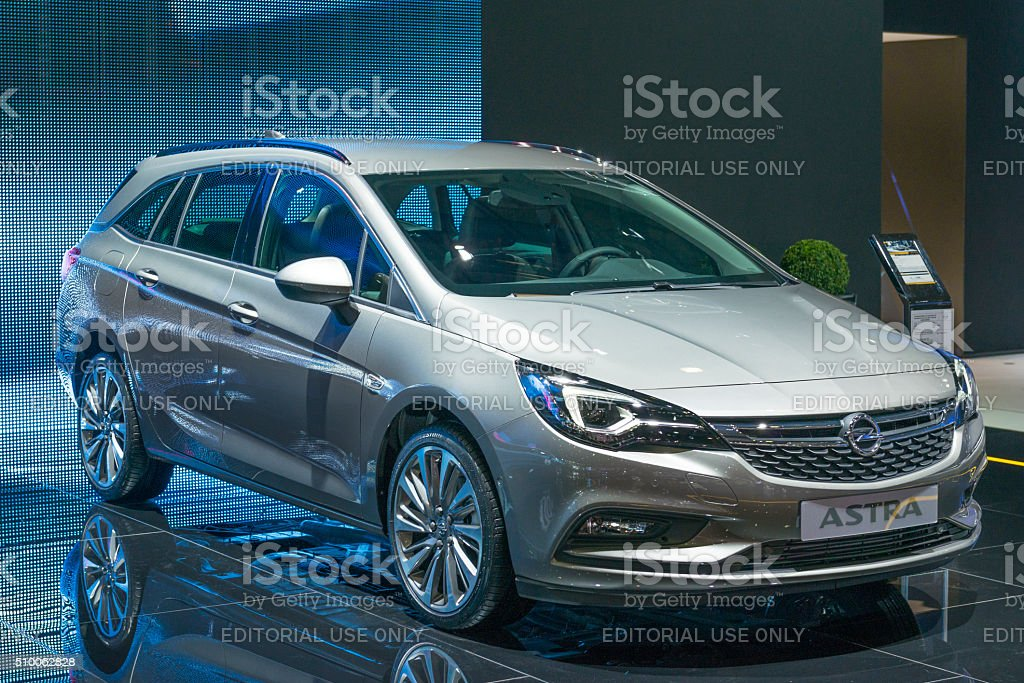 Opel Astra Sports Tourer Estate Car Stock Photo Download Image Now Istock