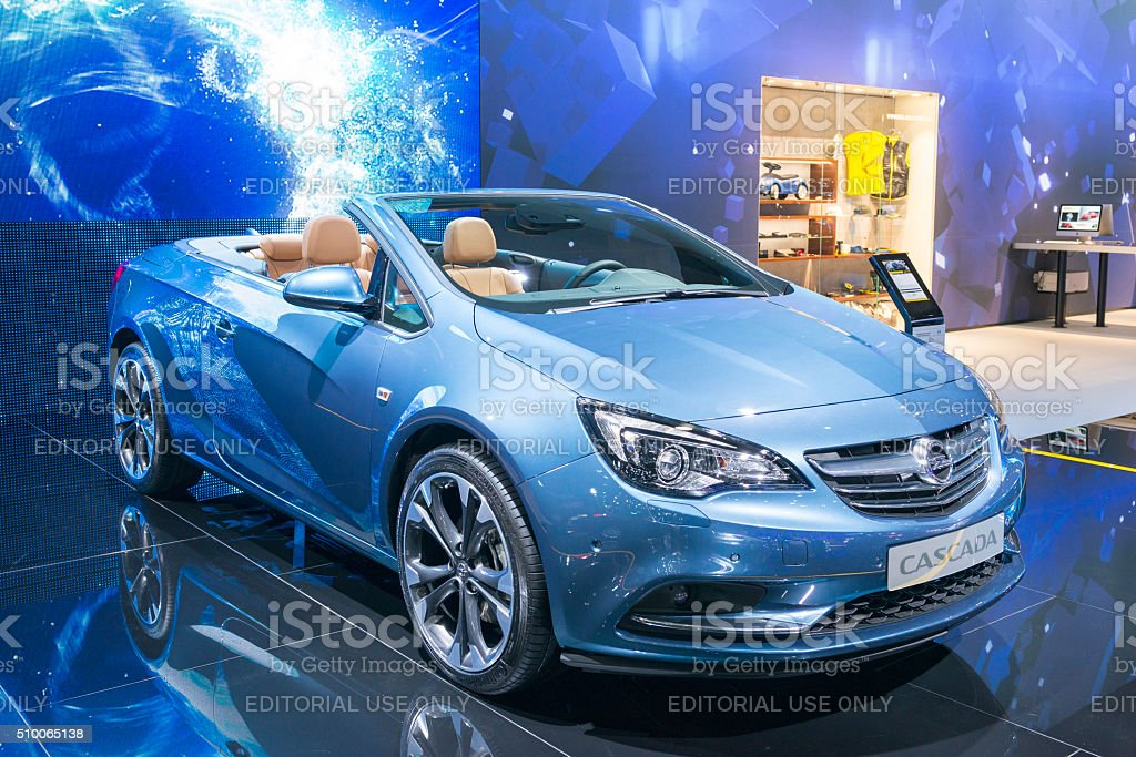 Opel Cascada Convertible Car Stock Photo Download Image Now Istock