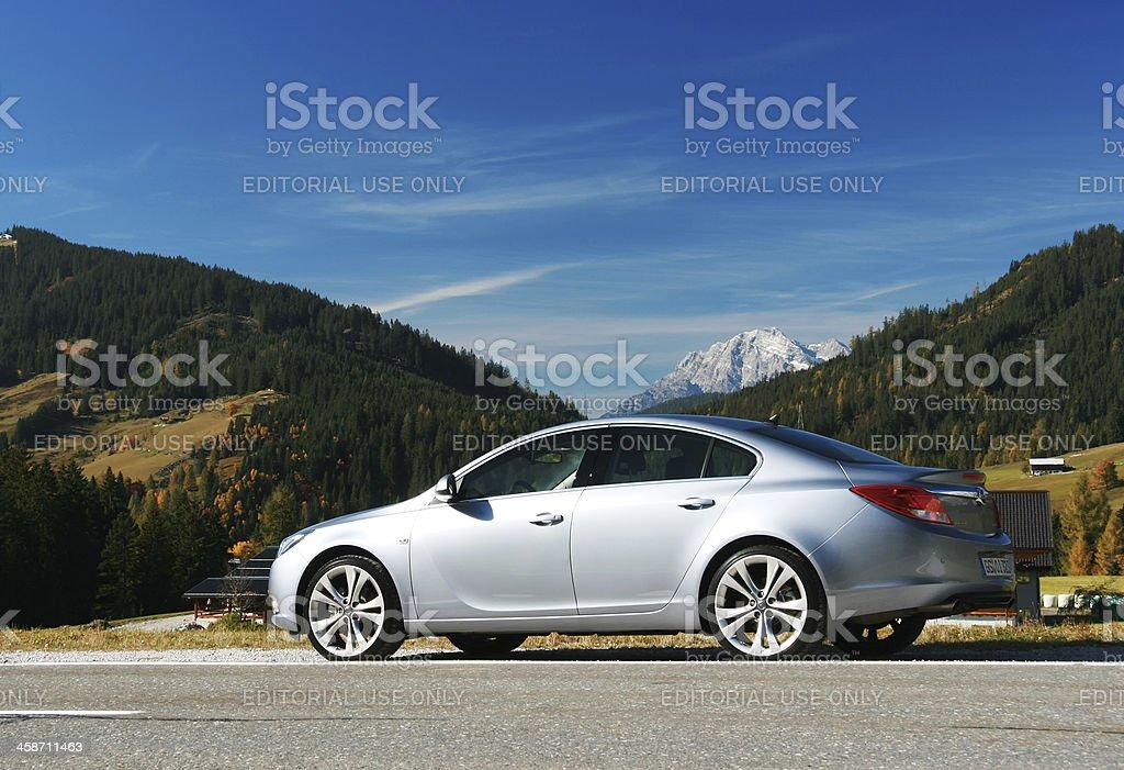 Opel Insignia stock photo