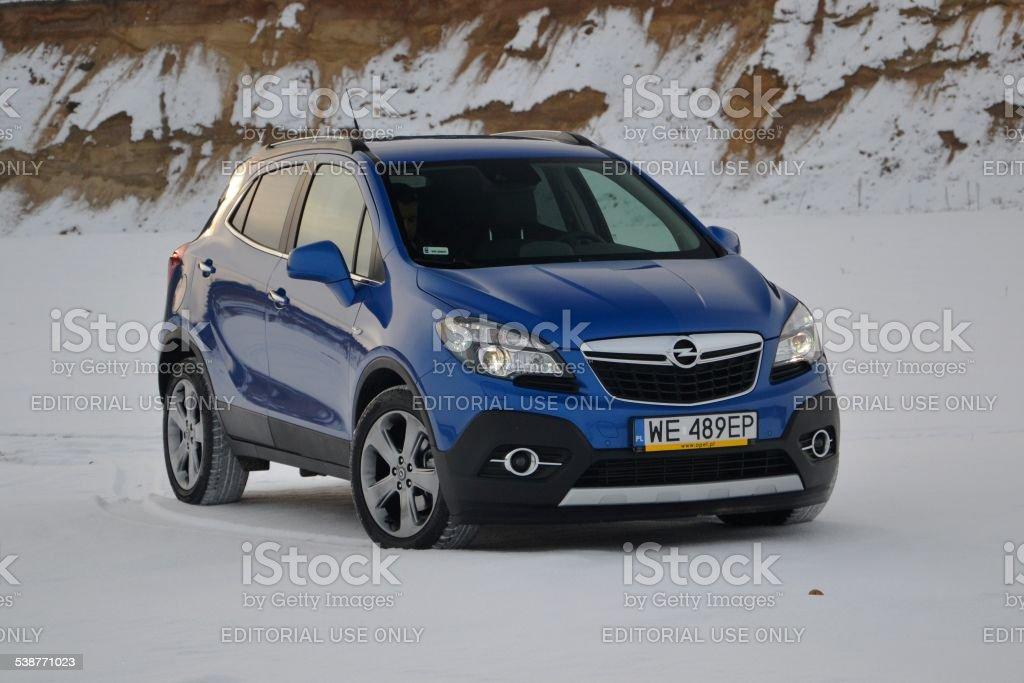 Opel Mokka In Winter Scenery Stock Photo Download Image Now Istock