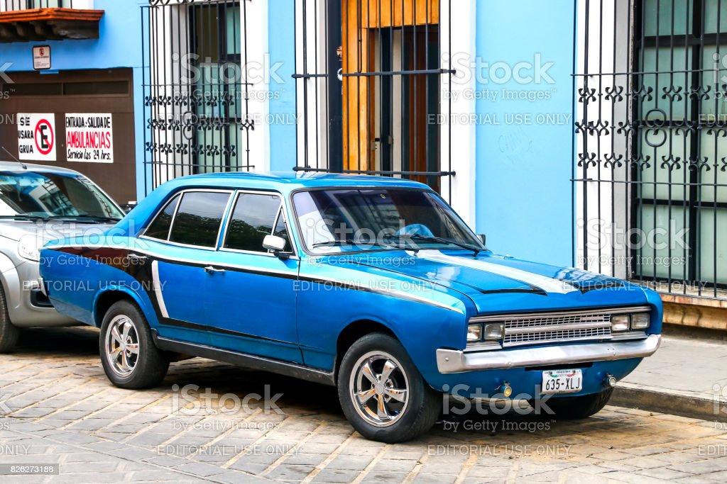 Opel Rekord stock photo