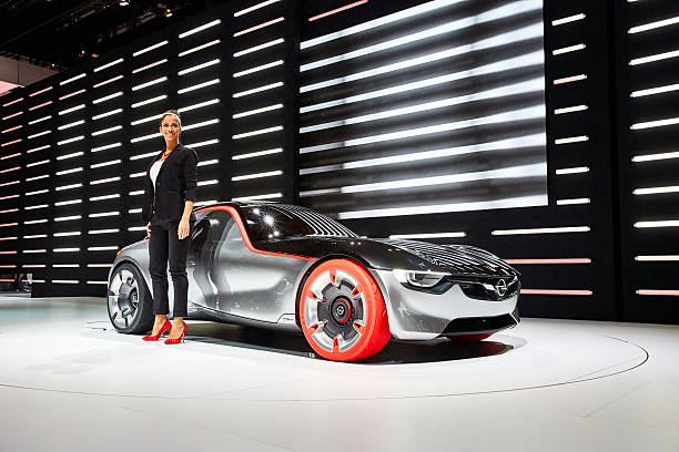2016 OpelGT Concept stock photo