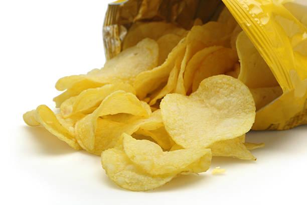 Offene Tüte Chips – Foto