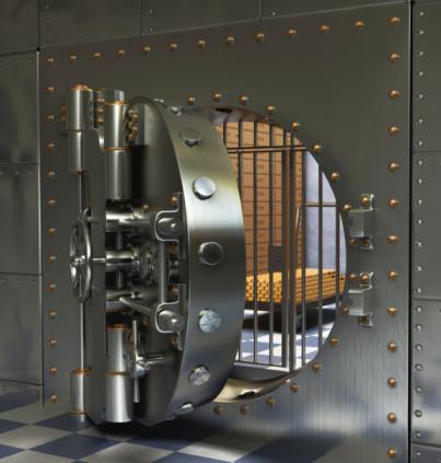 Öffnen Bank Gewölbe Stockfoto und mehr Bilder von Altertümlich