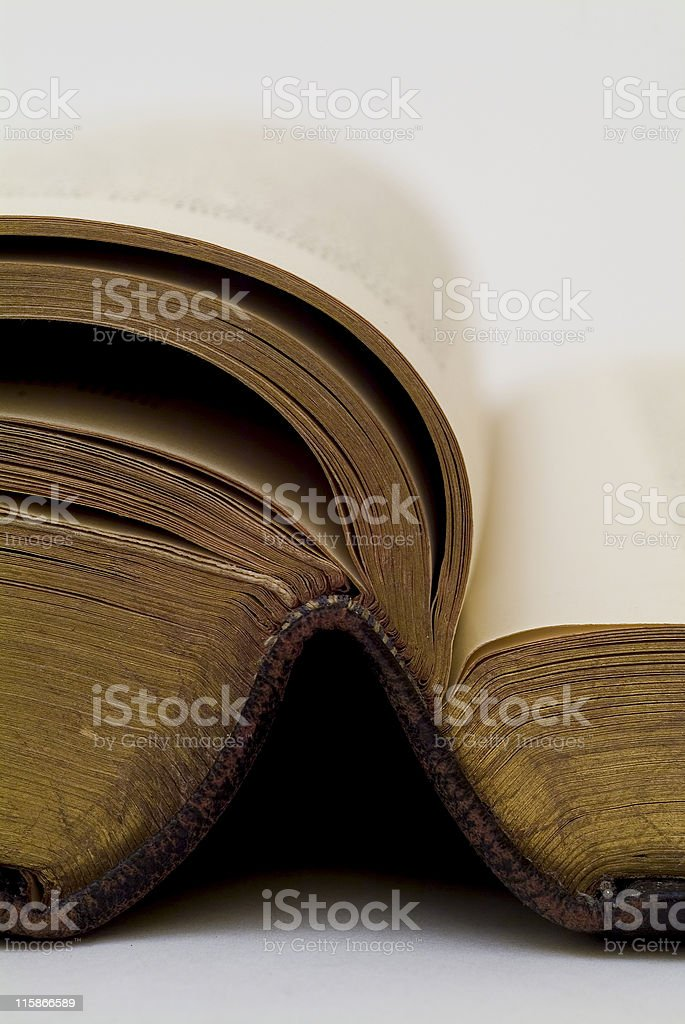 Abierto Biblia 03 - foto de stock