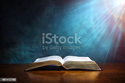istock Open Bible 481412780
