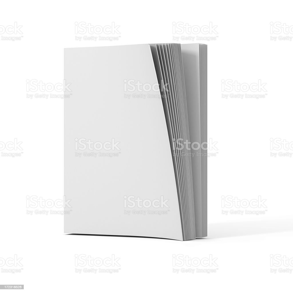 open blank book royalty-free stock photo