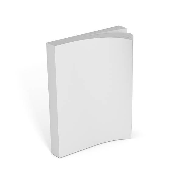 livro aberto em branco - brochura - fotografias e filmes do acervo