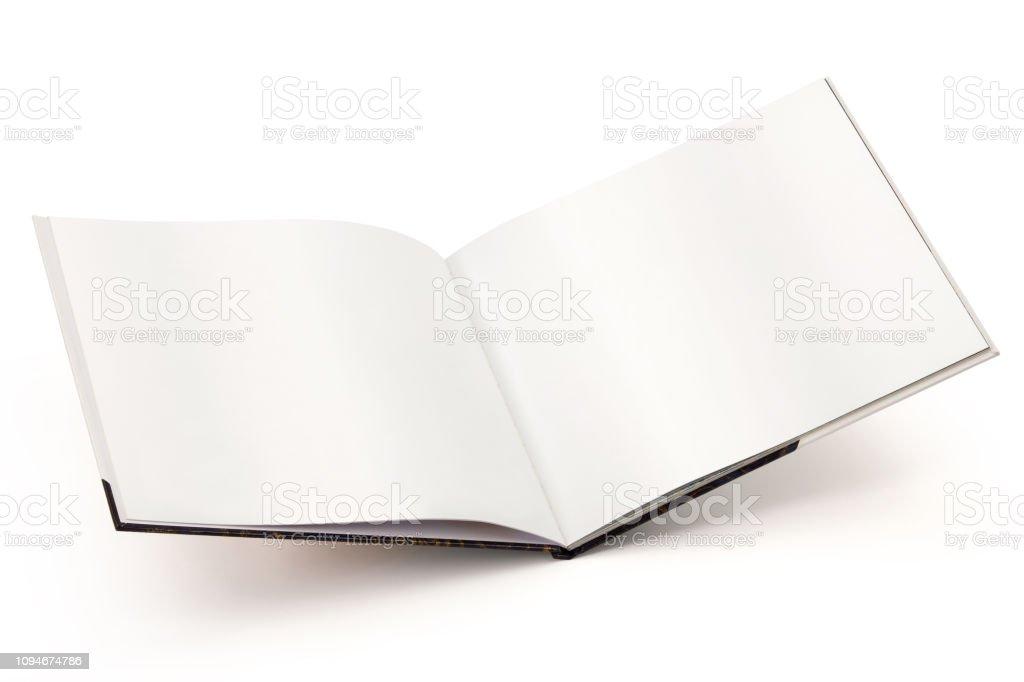 Öffnen Sie leere Buch-Cilipping-Pfad – Foto