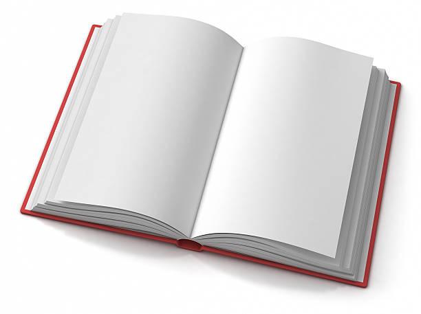 Offene leere hardback buchen – Foto