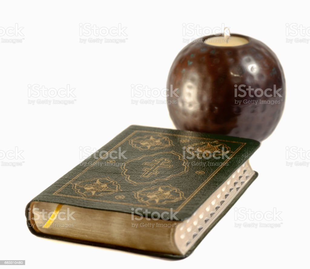 Open book on light table. Back to school. Copy space. foto stock royalty-free